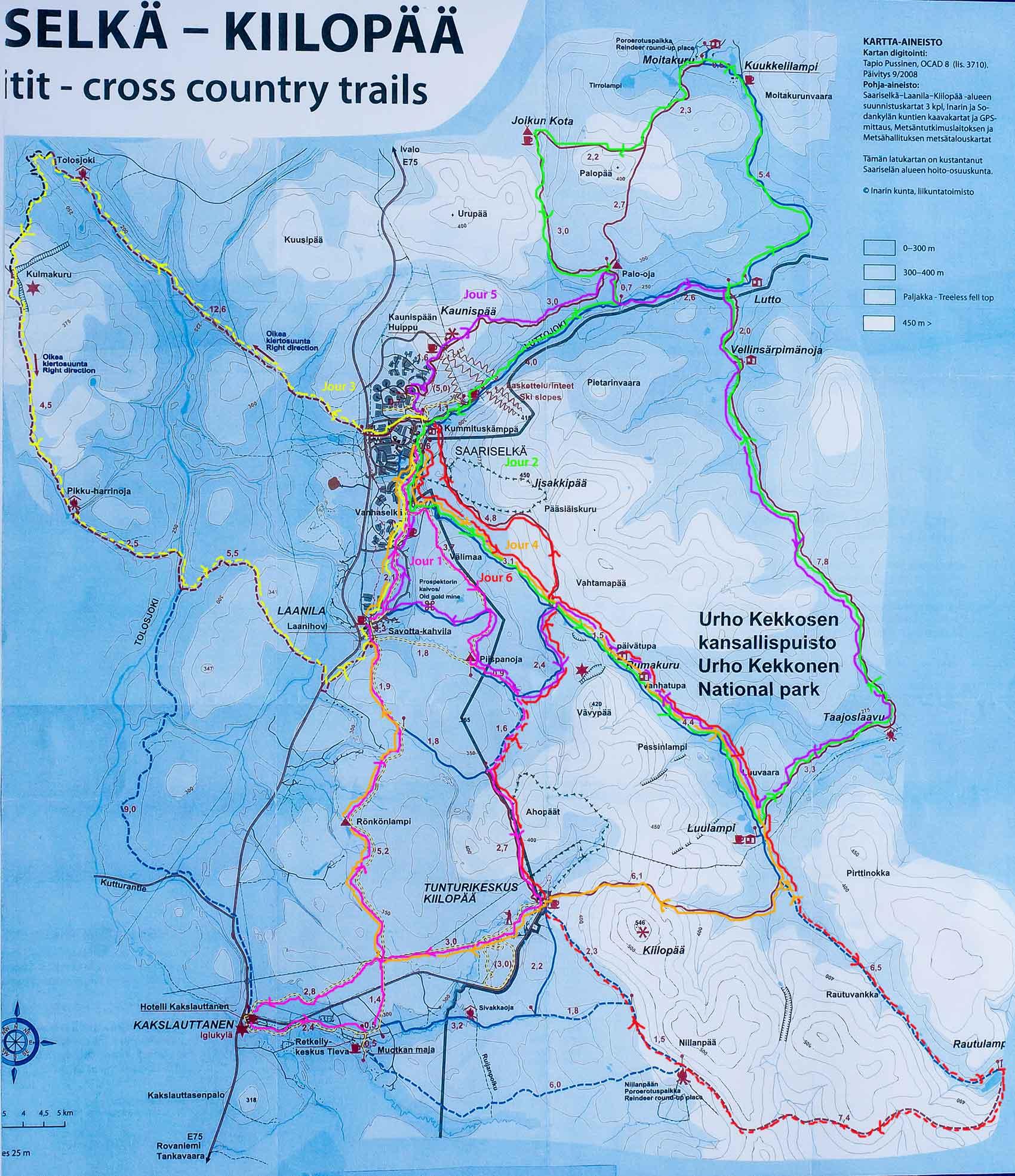 Super blog voyage Finlande: ski de fond en Laponie JW24